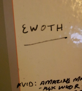 Ewoth beginning